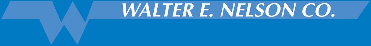 Walter E. Nelson Co's Company logo